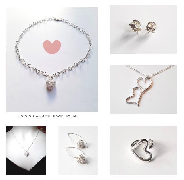 Be my Valentine! Zilveren sieraden voor Valentijn