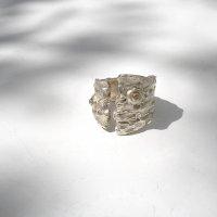 Ecorce III - Zilveren ring -