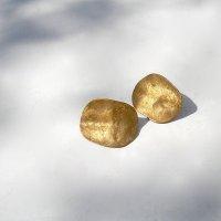 Jacarande - Goudkleurige oorstekers -