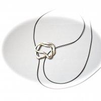 Lovely - Zilveren hanger -