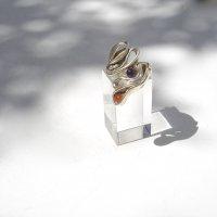 Piegato - Zilveren ring  -