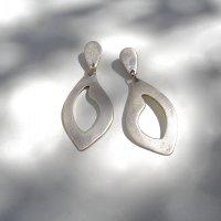 Puro - Zilveren oorhangers -