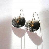 Twinnz - Zilveren oorhangers -