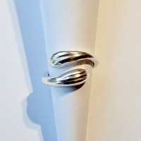 Embrace - Zilveren Ring  -
