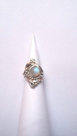 Luar Zilveren ring - Ringen