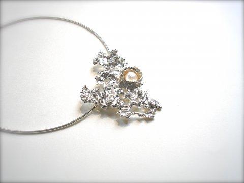 Silver Sparkle - Collier