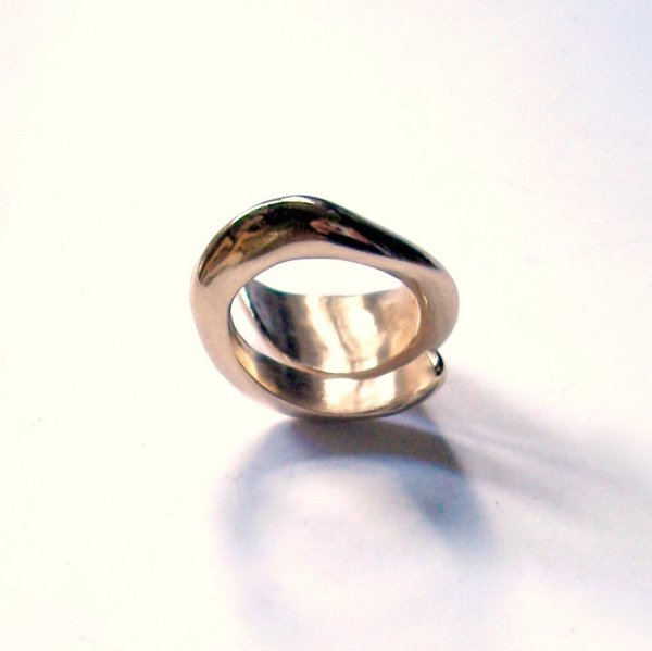 Chispa - Goudkleurige ring -