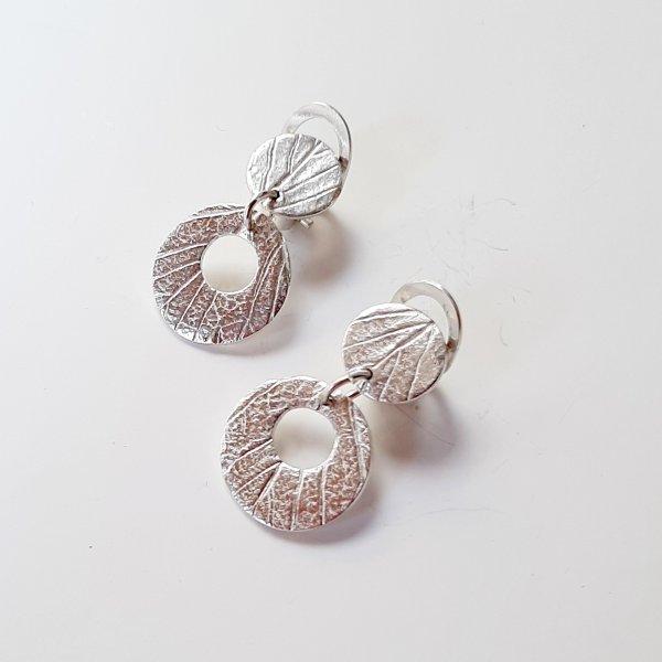 Circulos - Zilveren oorbellen -