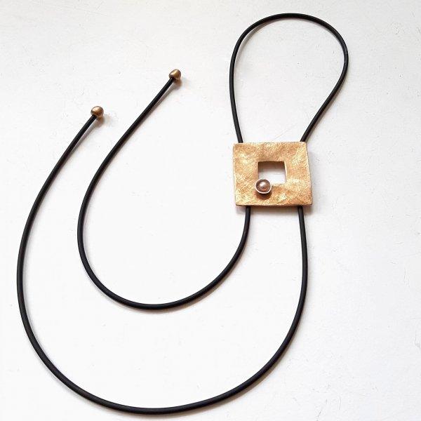 CoCo Perla - Goudkleurige hanger  met parel -