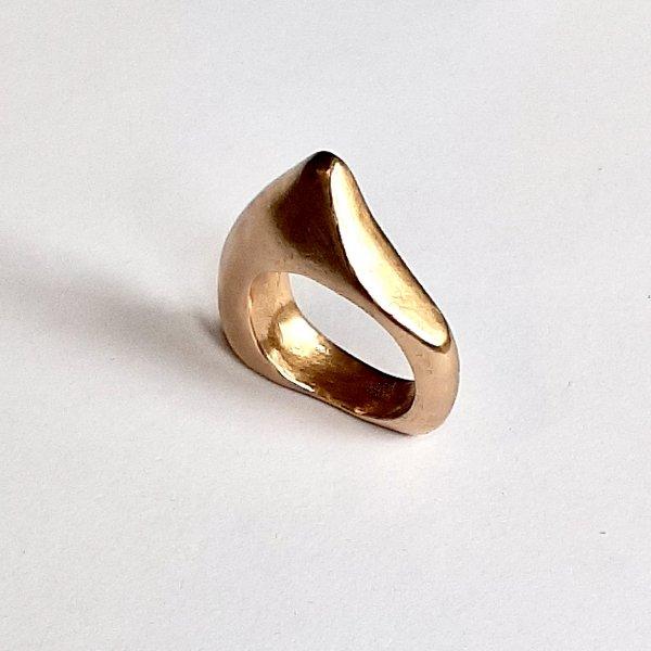 Disegno - Goudkleurige ring -