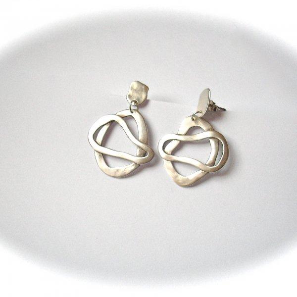 Lovely - Zilveren oorhangers -