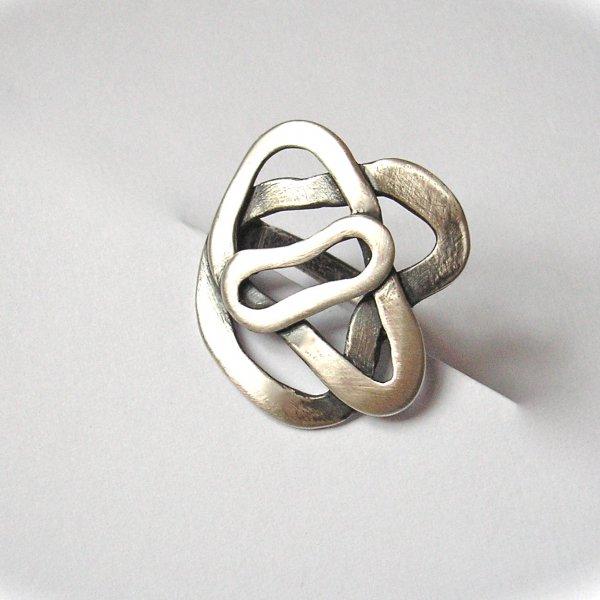 Lovely - Zilveren ring -