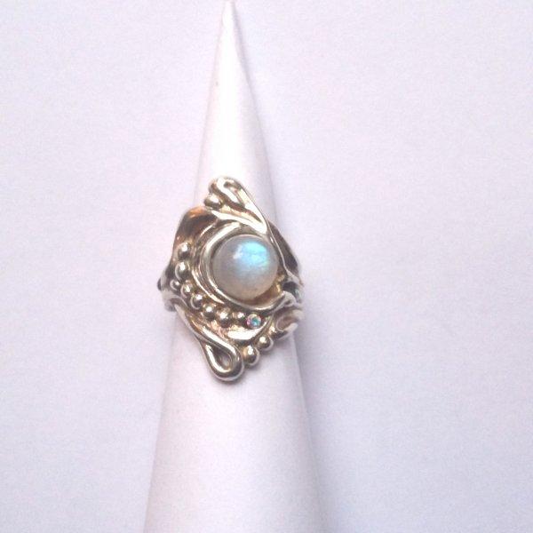 Luar Zilveren ring -