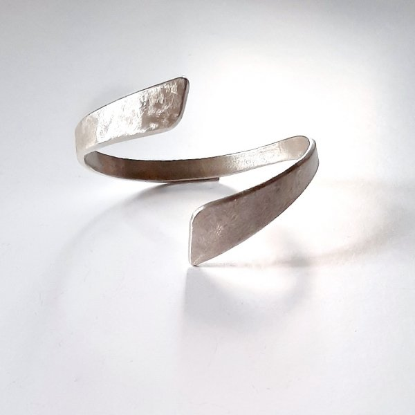 Magnifica - Armband Zilver Modern -