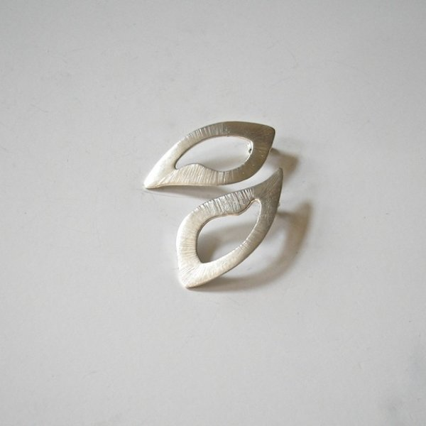 Magnificent  - Zilveren oorhangers -