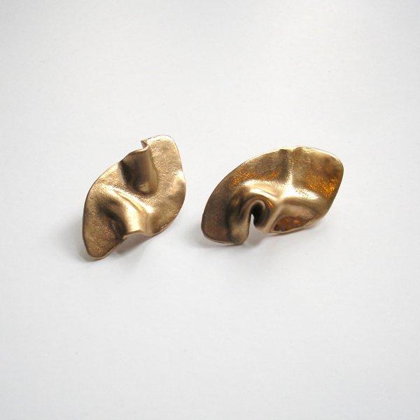 Ondinha - Goudkleurige oorstekers -