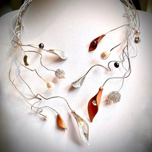 Allegria - Zilveren halssieraad -