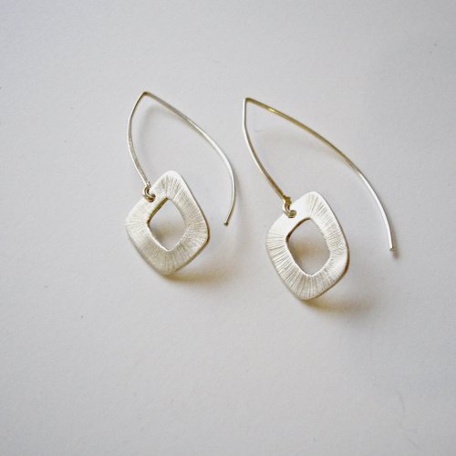 Cari - Zilveren oorhangertjes -