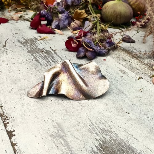 Cayendo - Zilveren broche -