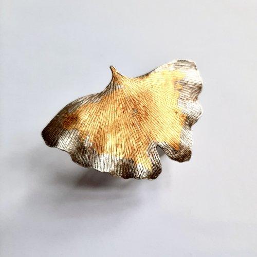 Ginko - Zilver met goud -