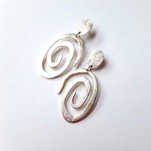Giocoso - Zilveren oorbellen -