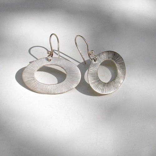 Ibiza - Zilveren oorbellen -