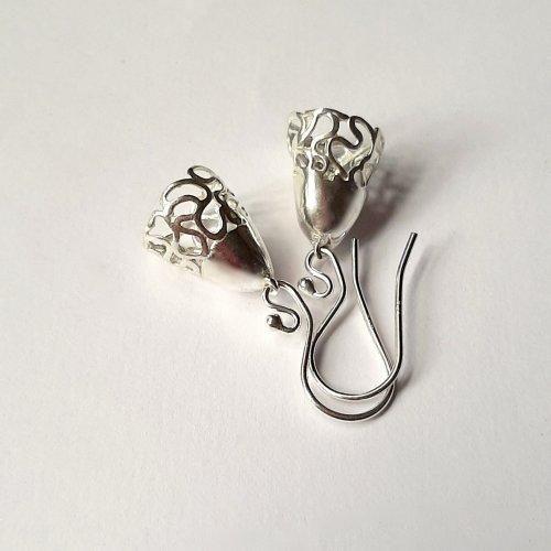 Joy - Zilveren oorhangertjes  -