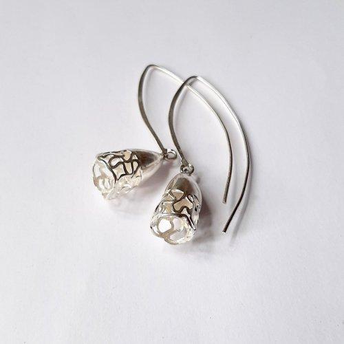 Joyous - Zilveren oorhangertjes -