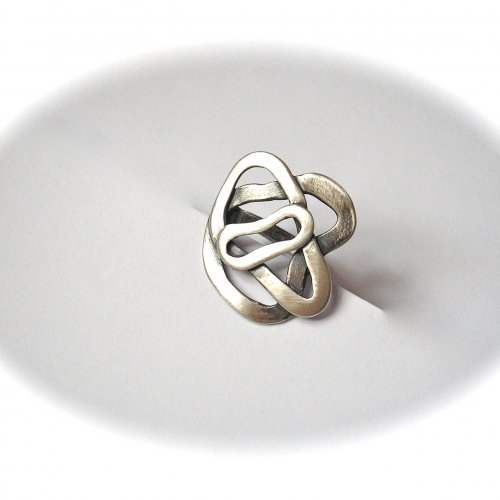 Lovely - Zilveren ring -