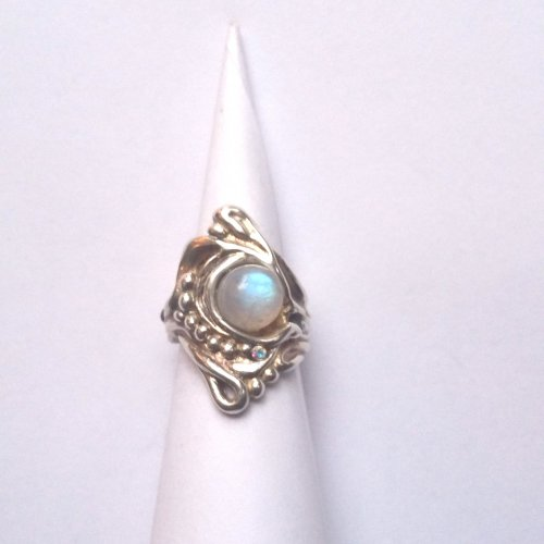 Luar - Zilveren ring -