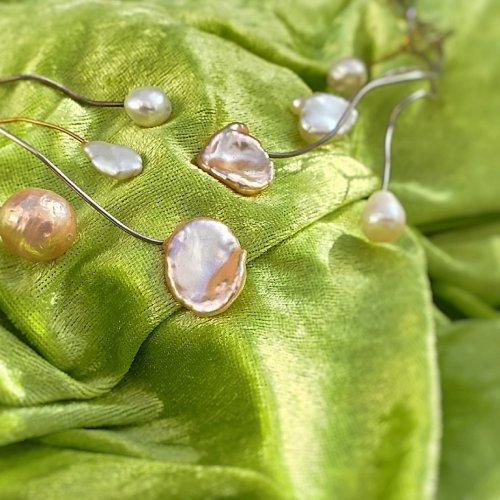 Pearl Wonders -  Collier met grote parels -