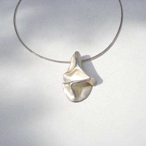 Piegare - Zilveren hanger -