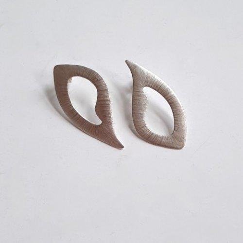 Serendipity - Zilveren oorhangers -